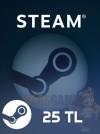 25 TL Steam Cüzdan