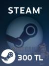 300 TL Steam Cüzdan