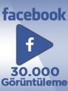 30000 Adet Facebook Video Görüntüleme