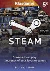 5 Euro Steam Cüzdan Kodu