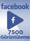 7500 Adet Facebook Video Görüntüleme
