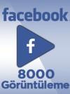 8000 Adet Facebook Video Görüntüleme