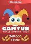 Gamyun 240000 Fıstık