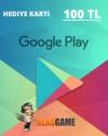 Google Play 100 TL