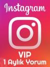 instagram 1 Aylık VIP Yorum Paketi