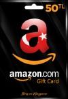Amazon TR Hediye Kartı 50 TL
