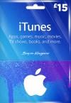 iTunes 15 GBP Gift Card