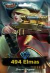 Mobile Legends: Bang Bang - 494 Elmas