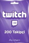 Twitch 200 Takipçi