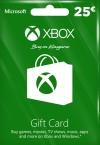 Xbox Live Gift Card 25 Euro