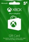 Xbox Live Gift Card 5 Euro