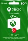 Xbox Live Hediye Kartı 50 TL