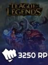 League Of Legends Eu West 2800 RP (450 Bonus)