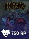 League Of Legends Eu West  700 RP (50 Bonus)