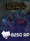 League Of Legends Eu West  7000 RP (1250 Bonus)