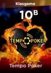 Tempo Poker 10 B Chip