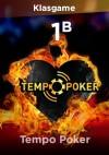 Tempo Poker 1000M Chip