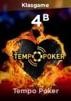 Tempo Poker 4 B Chip