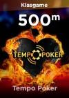 Tempo Poker 500M Chip