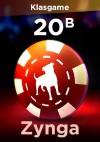 Facebook Zynga 16000M (16B) Chip + 4000M (4B) Bonus