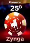 Facebook Zynga 20 B Chip + 5 B Bonus