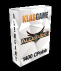 Alemgame 1200 CPoint + 200 Bonus