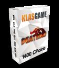 Deathko 1200 Cpoint + 200 Bonus