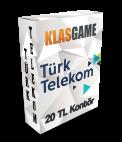 TürkTelekom 20 TL (Kartkontör)