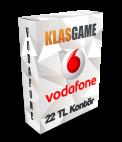 Vodafone 22 TL (Tam)