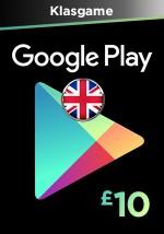 Google Play 10 GBP