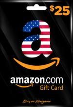 Amazon US Gift Card 25$