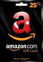 Amazon TR Hediye Kartı 25 TL