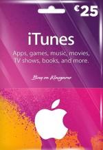 iTunes 25 Euro Gift Card