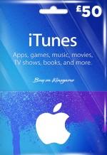 iTunes 50 GBP Gift Card