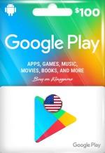 Google Play Gift Card 100 USD