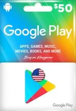 Google Play Gift Card 50 USD