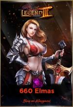 Legend Online 600+60 Elmas EPİN