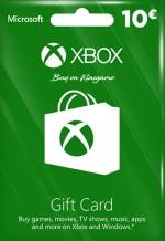 Xbox Live Gift Card 10 Euro