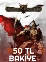 Oldschoolko 50 TL