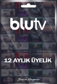 BluTV - 12 Aylık Üyelik