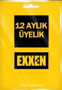 Exxen 12 Aylık Üyelik (Reklamlı)