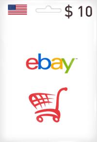 eBay Gift Card 10$