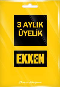 Exxen 3 Aylık Üyelik (Reklamlı)