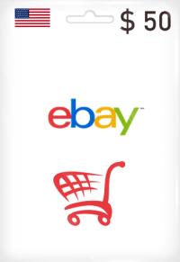eBay Gift Card 50$
