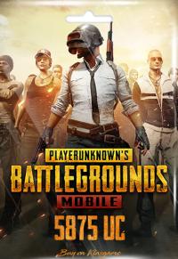 Pubg Mobile 5875 UC