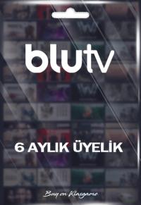 BluTV - 6 Aylık Üyelik