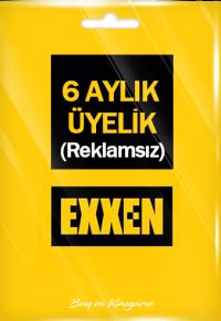 Exxen 6 Aylık Üyelik (Reklamsız)