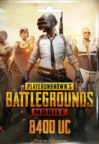 Pubg Mobile 8400 UC