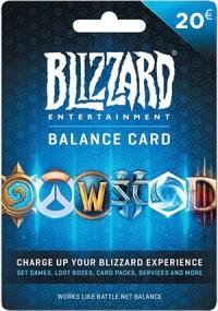 Battlenet Gift Card - 20 Euro