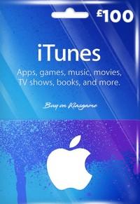 iTunes 100 GBP Gift Card